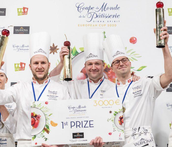 Европейский финал кондитерского конкурса CMP