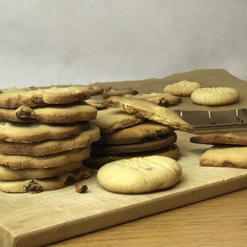 Песочное печенье без глютена
