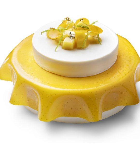 """Муссовый торт """"Лемонграсс – манго"""""""