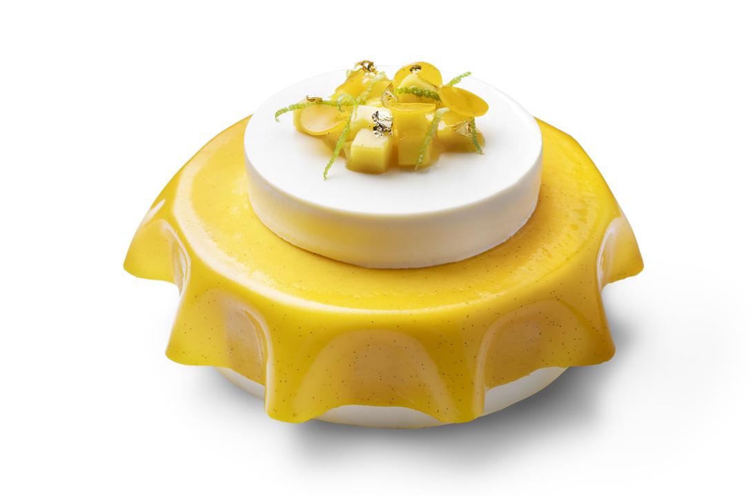 """Муссовый торт """"Лемонграсс - манго"""""""