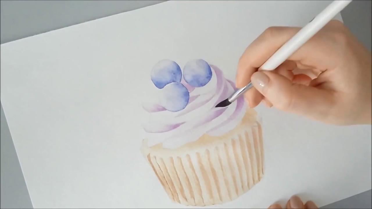 Можно ли рисовать акварелью на торте?