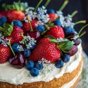 торт ягоды2