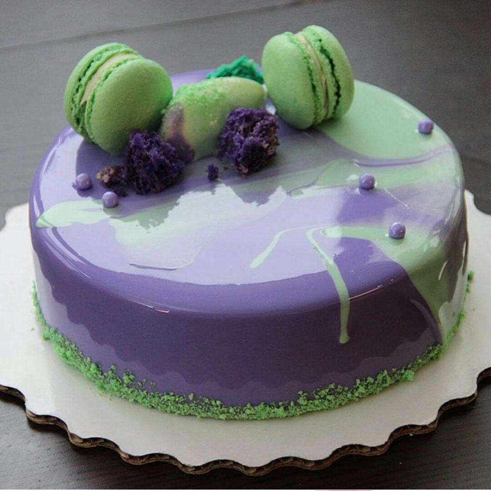 Зеркальная глазурь для торта своими руками